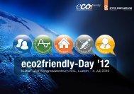 eco2friendly-Day - Otto Fischer AG