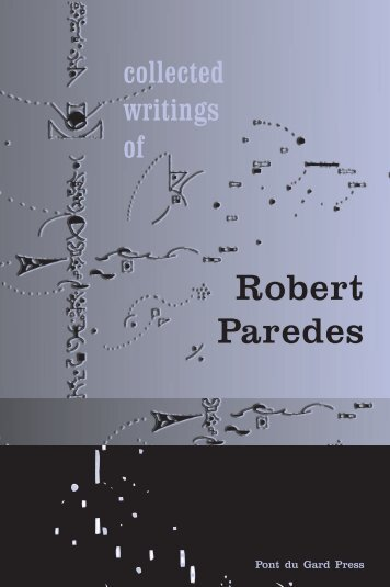 Collected Writings of Robert Paredes