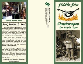 Food, Fiddlin, & Fun! - Fiddle Fire