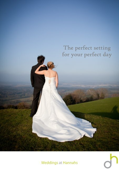 Download our wedding package brochure
