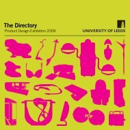 The Directory - Faculty of Engineering - University of Leeds