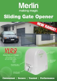 Sliding Gate Opener - All Coast Garage Doors