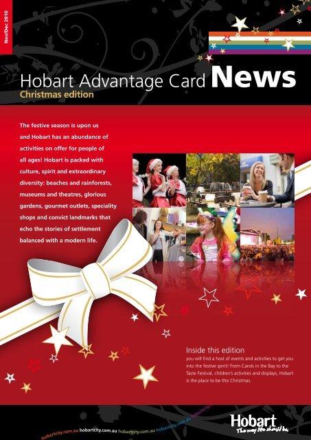 Hobart Advantage Card News - Hobart City Council