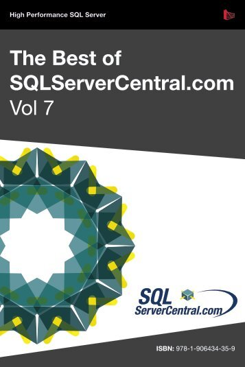 The Best of SQLServerCentral.com – Vol. 7