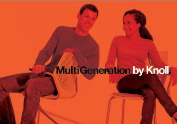 MultiGeneration by Knoll Brochure