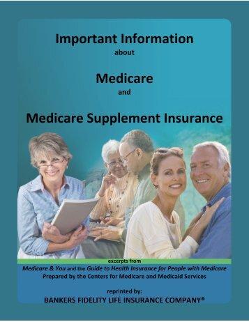 Important Information Medicare Medicare ... - Bankers Fidelity