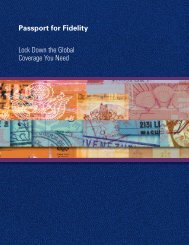 Passport for Fidelity 9.03cover - Chartis