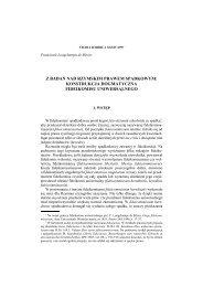 z badań nad rzymskim prawem spadkowym: konstrukcja ...