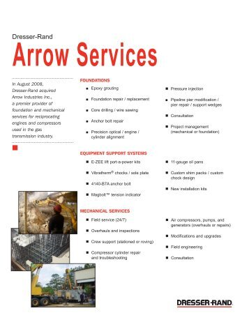 Dresser Rand Arrow Services