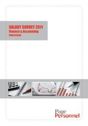 SALARY SURVEY 2011 - Page Personnel