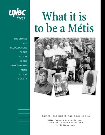 What it is to be a Métis - University of British Columbia