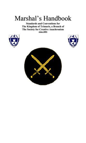 Marshal's Handbook - Kingdom of Trimaris