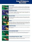 Cable & Umbilical Solutions - GeoSpace Technologies - Page 3