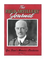 the field artillery journal - september 1941 - Fort Sill - U.S. Army
