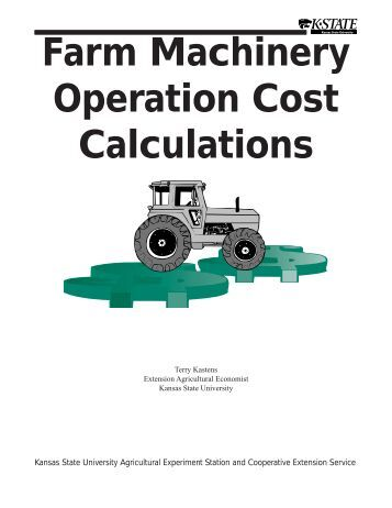 MF2244 Farm Machinery Cost Calculations - AgManager