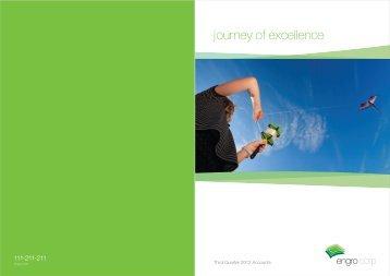 Engro Corp. | 3rd Quarter Report 2012
