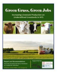 ny grasslands utilization work team - Cornell Small Farms Program ...