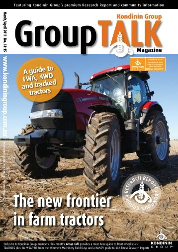 The new frontier in farm tractors
