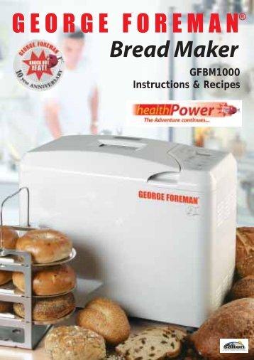 breville bread maker br11 instruction manual