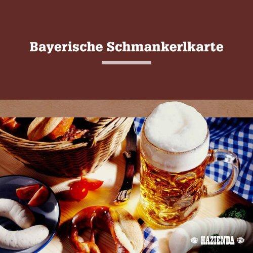 Bayerische Schmankerlkarte - carathotel Wittelsbacher Hof Kelheim
