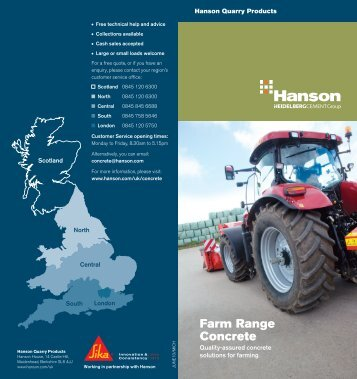 Hanson Farm Range Concrete - HeidelbergCement