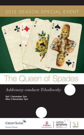 The Queen of Spades - Sydney Symphony Orchestra