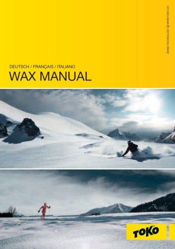 WAX MANUAL