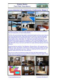 Shelley Banks - Lanzarote Villa Owners