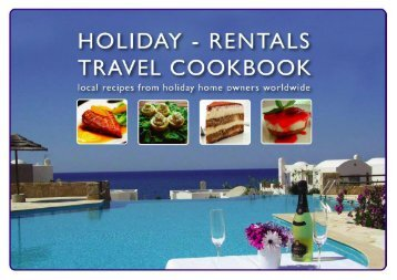 download the Holiday-Rentals Travel Cookbook - HomeAway
