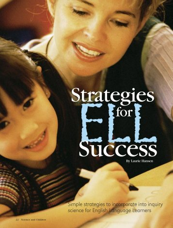 Strategies for ELL Success - University of Missouri