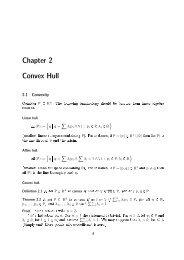 Chapter 2 Convex Hull - TI