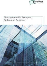 SWISSRAILING Geländer mit Halt - Glas Trösch