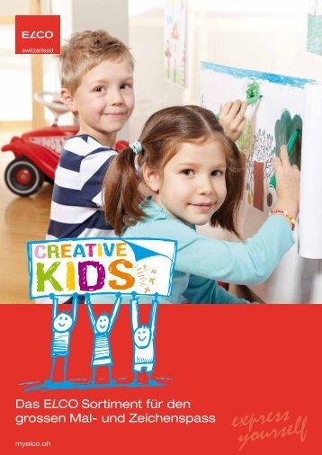 Creative Kids – Freude, die haften bleibt - Papeterie Schlup