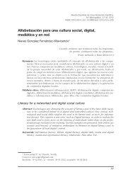 Alfabetización para una cultura social, digital, mediática y en red