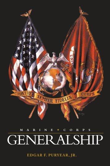 Marine Corps Generalship