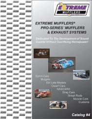 pro-series mufflers & exhaust systems - Extreme Muffler