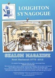 ShalomMag HHD 2012 - Loughton Synagogue