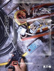 Heavy Duty Limit Switches - Eaton Canada