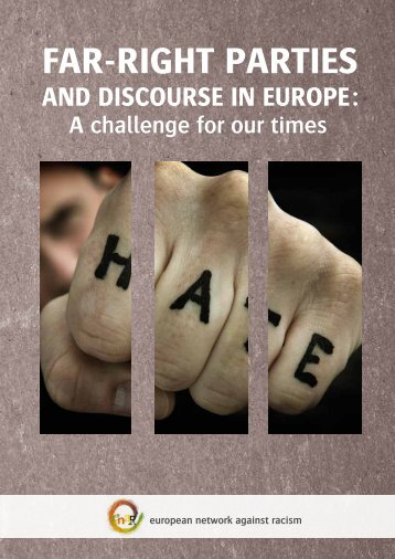 Publication: Far-right parties and discourse in Europe - Horus
