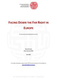 facing down the far right in europe - Foundation for European ...