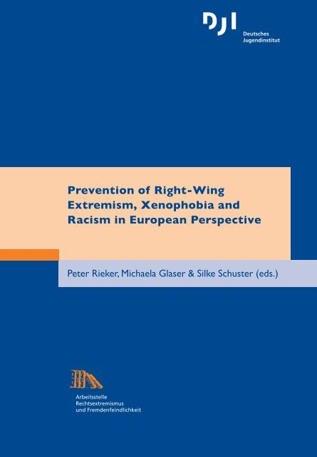 detailed look super popular exclusive deals Prevention of Right-Wing Extremism, Xenophobia and Racism in ...
