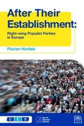 25CES right-wing populist parties_ces - Centre for European Studies