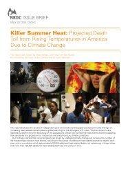 Killer Summer Heat - Natural Resources Defense Council