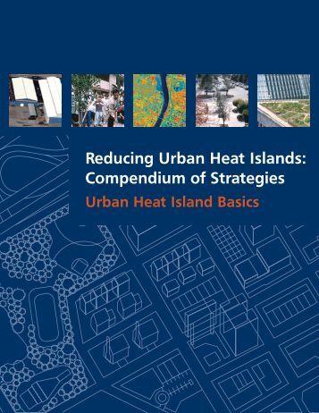 Urban Heat Island Basics - US Environmental Protection Agency