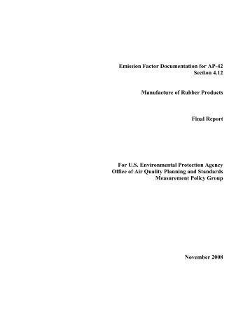 Emission Factor Documentation for AP-42 Section 4.12 - US ...