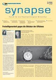 Synapse 02/06 - Integrierte Psychiatrie Winterthur