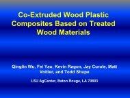 Co-Extruded Wood Plastic Composites Based on Treated Wood ...