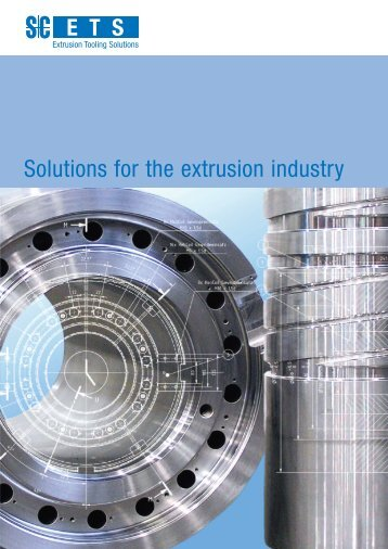 Solutions for the extrusion industry - Schmidt + Clemens