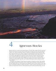 4 Igneous Rocks - Earth's Dynamic Systems