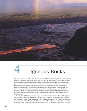 4 Igneous Rocks - Earth's Dynamic Systems